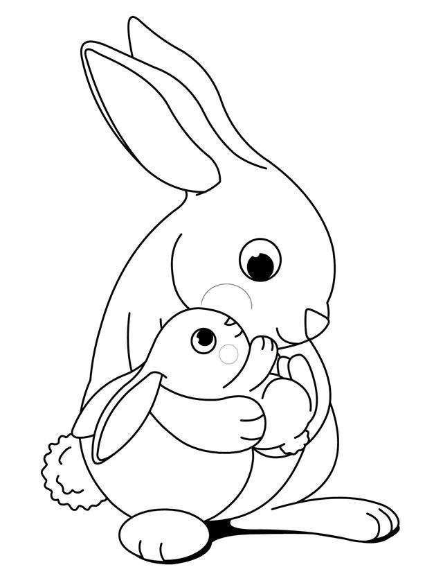 bunny rabbit printables printable rabbit coloring pages for kids cool2bkids printables rabbit bunny