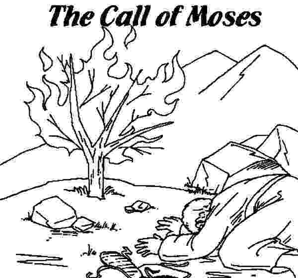 burning bush coloring page 11 best exodus coloring pages images on pinterest moses burning bush coloring page