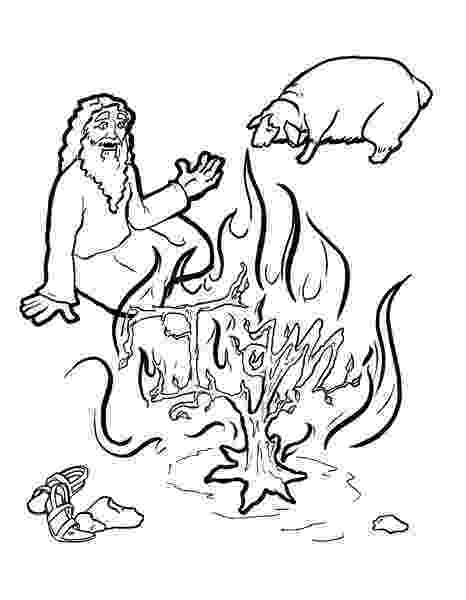 burning bush coloring page 157 best images about color sheets for bible on pinterest bush burning coloring page
