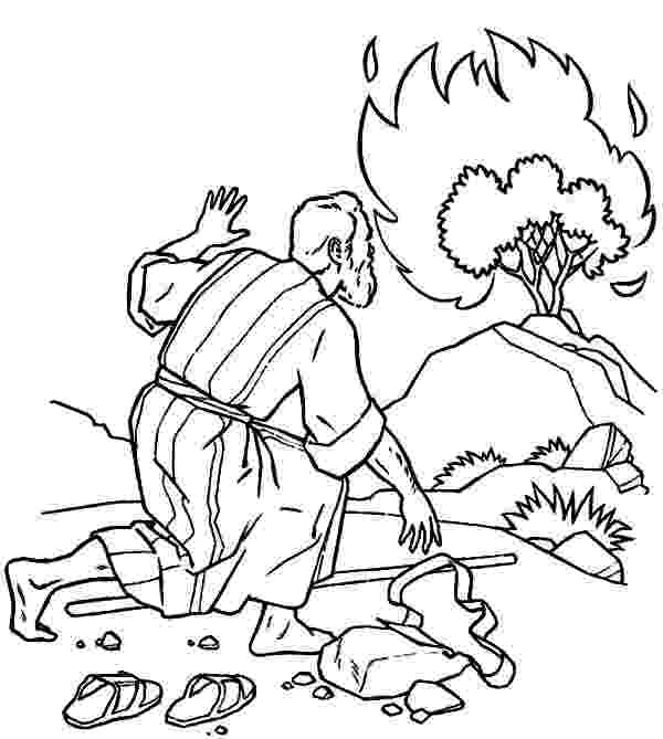 burning bush coloring page burning bush coloring page craft coloring pages page burning bush coloring