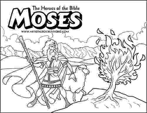 burning bush coloring page moses burning bush google search burning bush bible burning coloring bush page