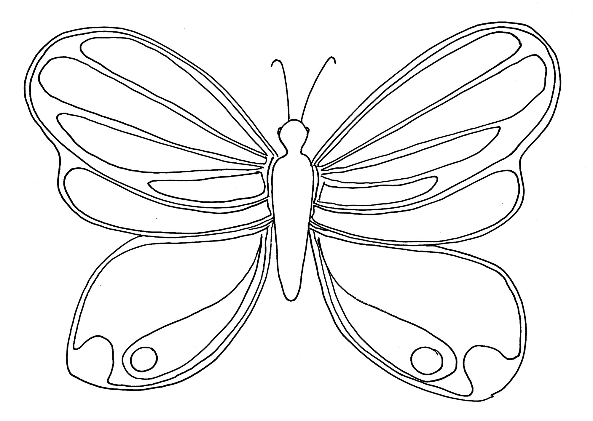 butterflies to color free printable butterfly coloring pages for kids to butterflies color 1 1