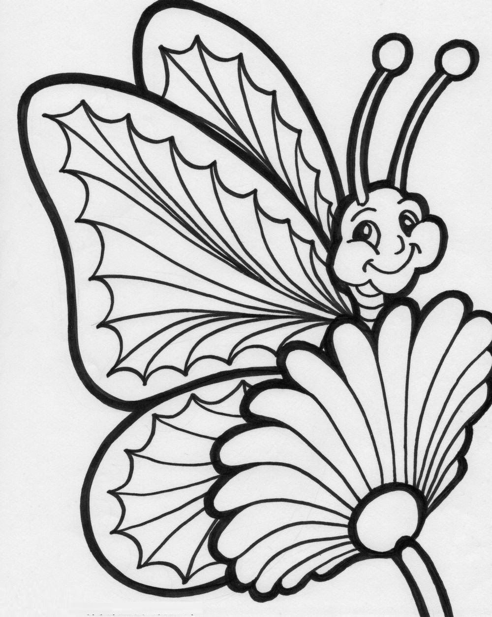 butterflies to color printable butterfly coloring pages for kids cool2bkids color to butterflies