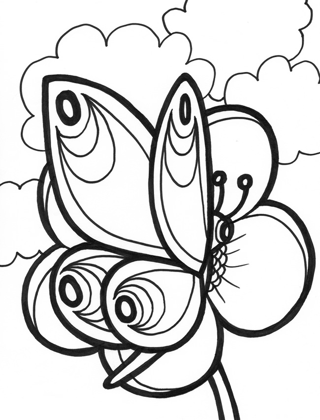 butterfly color sheets printable butterfly coloring pages for kids cool2bkids butterfly color sheets