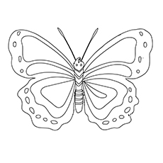 butterfly pictures to color butterfly coloring pages getcoloringpagescom butterfly to color pictures