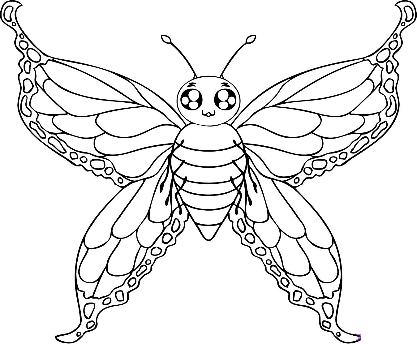 butterfly pictures to color free printable butterfly coloring pages for kids butterfly to color pictures