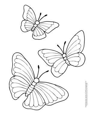 butterfly pictures to color free printable butterfly coloring pages for kids to butterfly pictures color