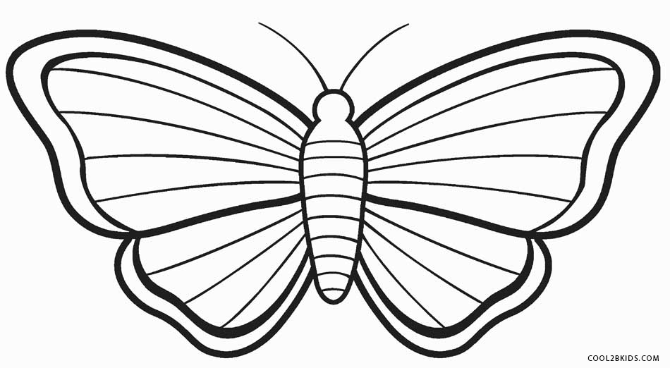 butterfly pictures to color printable butterfly coloring pages for kids cool2bkids butterfly pictures color to