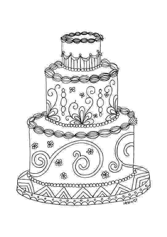 cake coloring pages to print free printable birthday cake coloring pages for kids cake pages print to coloring