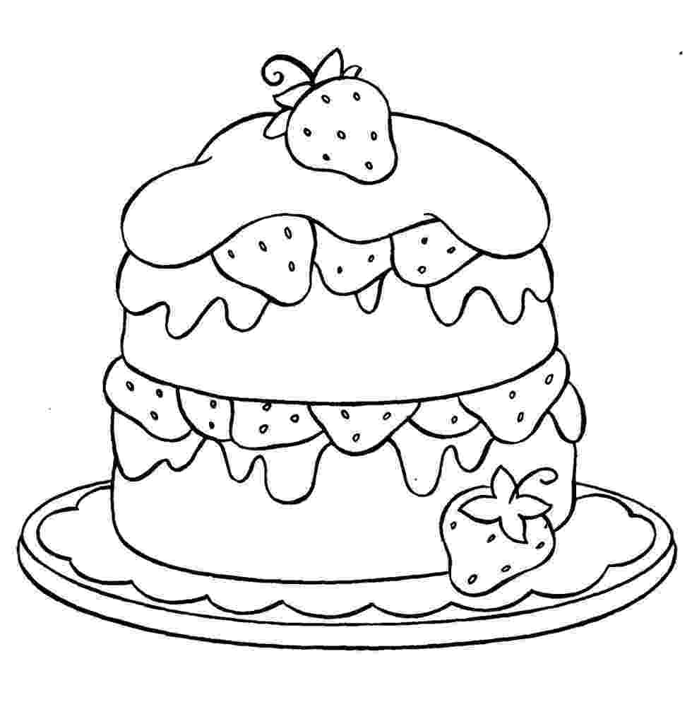 cake coloring pages to print free printable birthday cake coloring pages for kids coloring pages to print cake