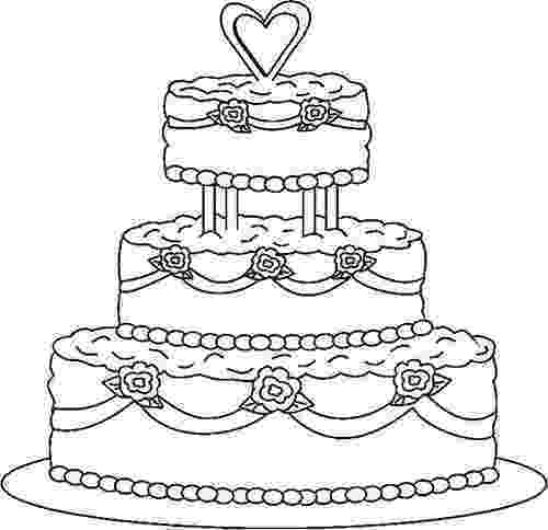 cake coloring pages to print wedding cake coloring pages 03 cake drawing wedding print coloring to cake pages