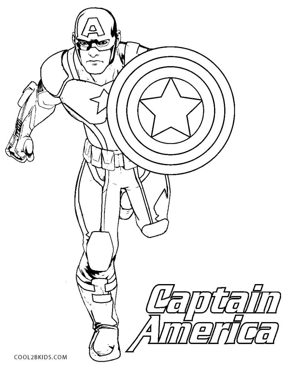 captain america colouring pictures free printable captain america coloring pages for kids america captain pictures colouring