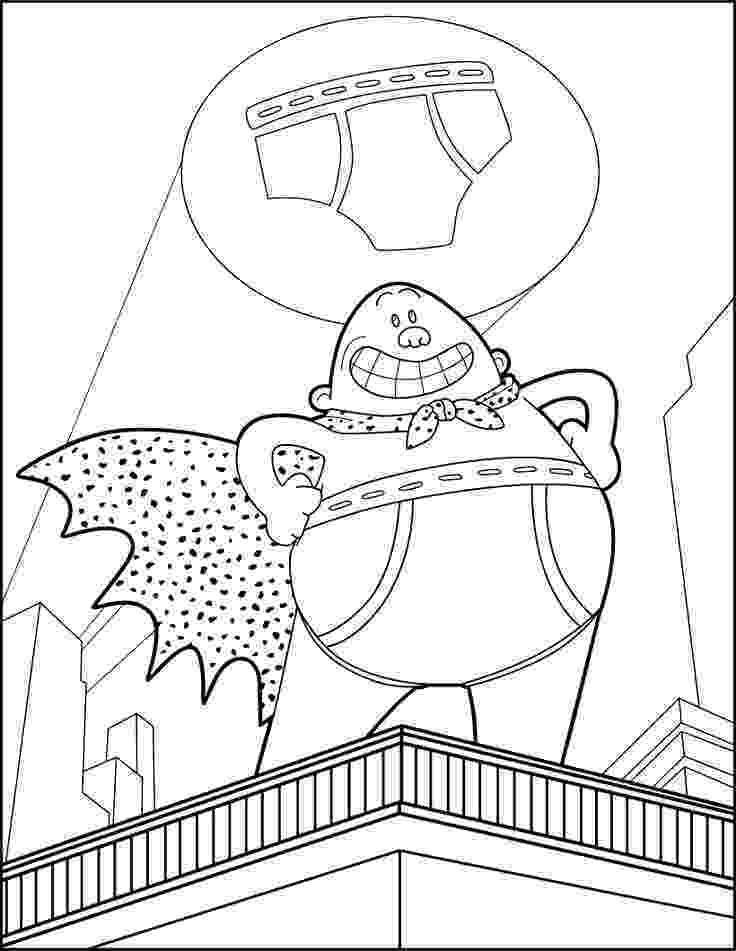 captain underpants coloring pages free captain underpants colouring captain underpants monster coloring underpants captain pages free