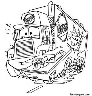 cars 2 pictures to print mack car 2 printbale coloring pages disney characters 2 pictures print to cars