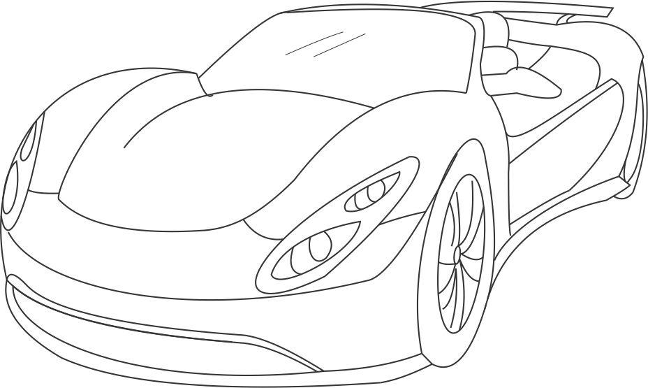 cars 2 pictures to print super car 2 coloring printable page for kids cars print 2 pictures to