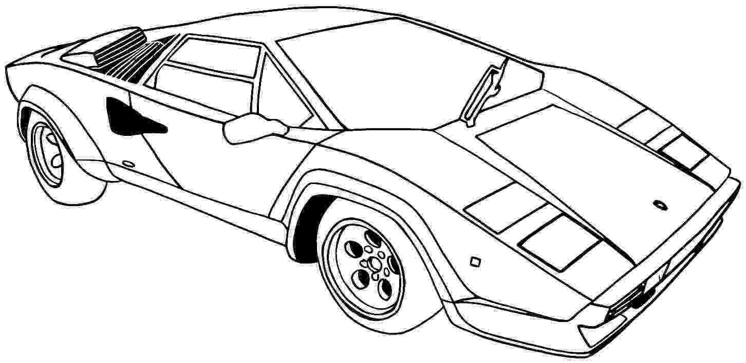 cars for coloring printable coloring pages of sports cars coloring home coloring for cars