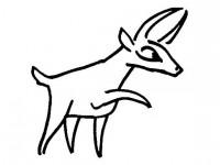 cartoon antelope cartoon antelope coloring pages for kids antelope cartoon