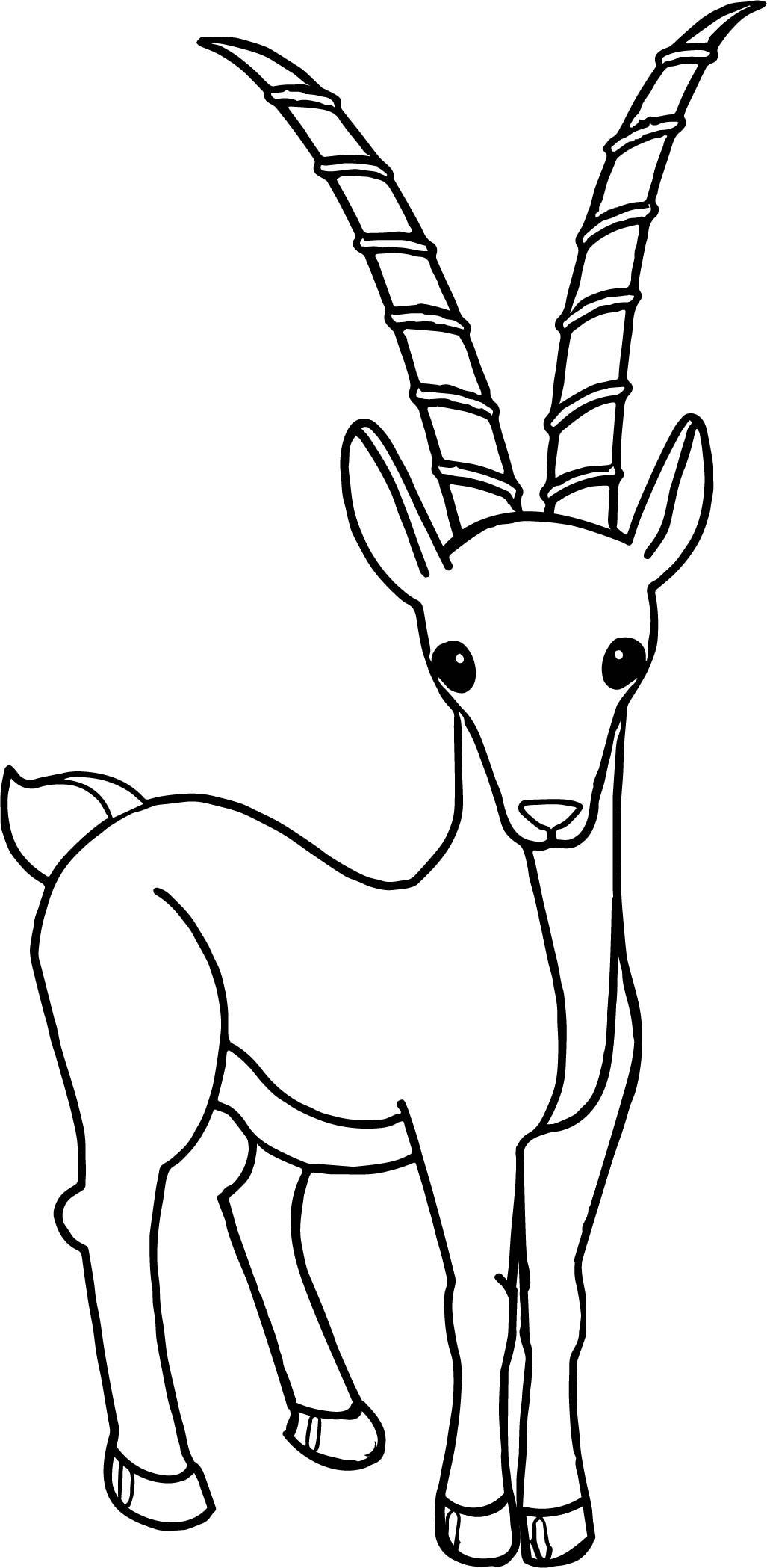 cartoon antelope cartoon antelopes coloring pages free coloring pages antelope cartoon