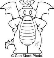 cartoon dragon baby dragon clip art vector graphics 4403 baby dragon cartoon dragon
