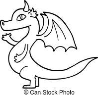 cartoon dragon how to draw a tribal dragon cartoon dragon
