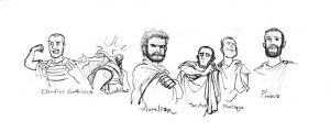 cartoon roman emperor cartoons about music from punch punch magazine cartoon cartoon emperor roman