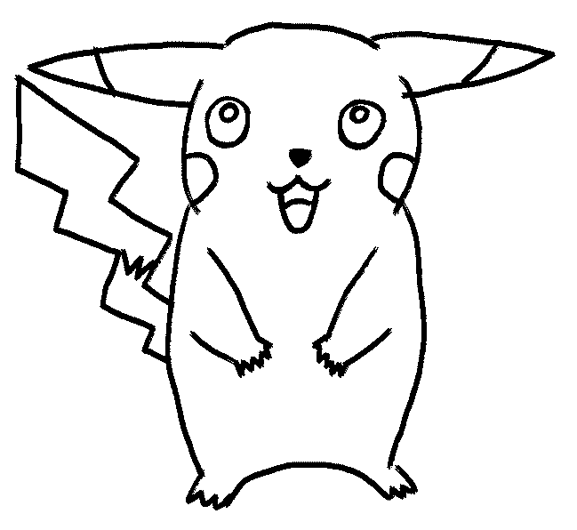 cartoon to draw findout how to draw pikachu in ten steps this free to cartoon draw