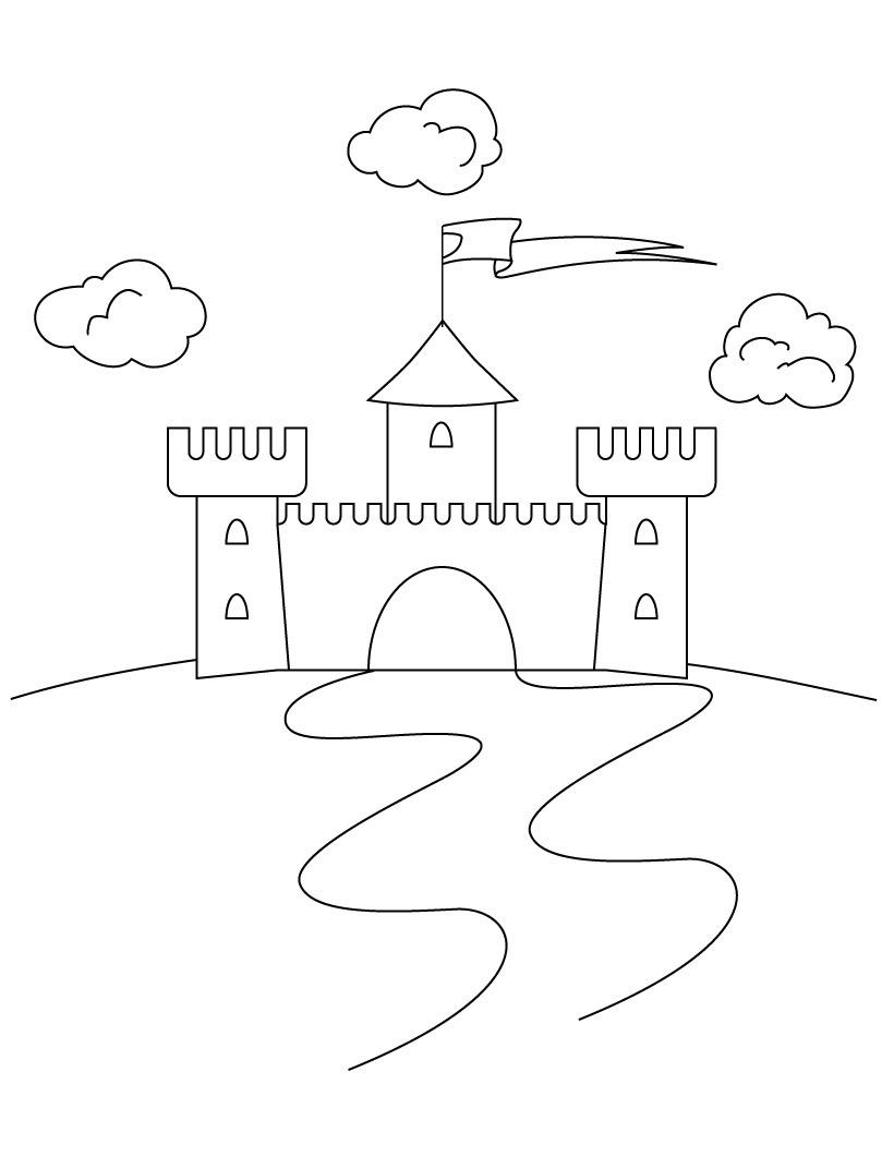 castle coloring pages cartoon design disney princess castle coloring pages to kids pages castle coloring