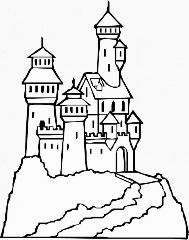castle coloring pages castle coloring pages coloringpages1001com castle pages coloring
