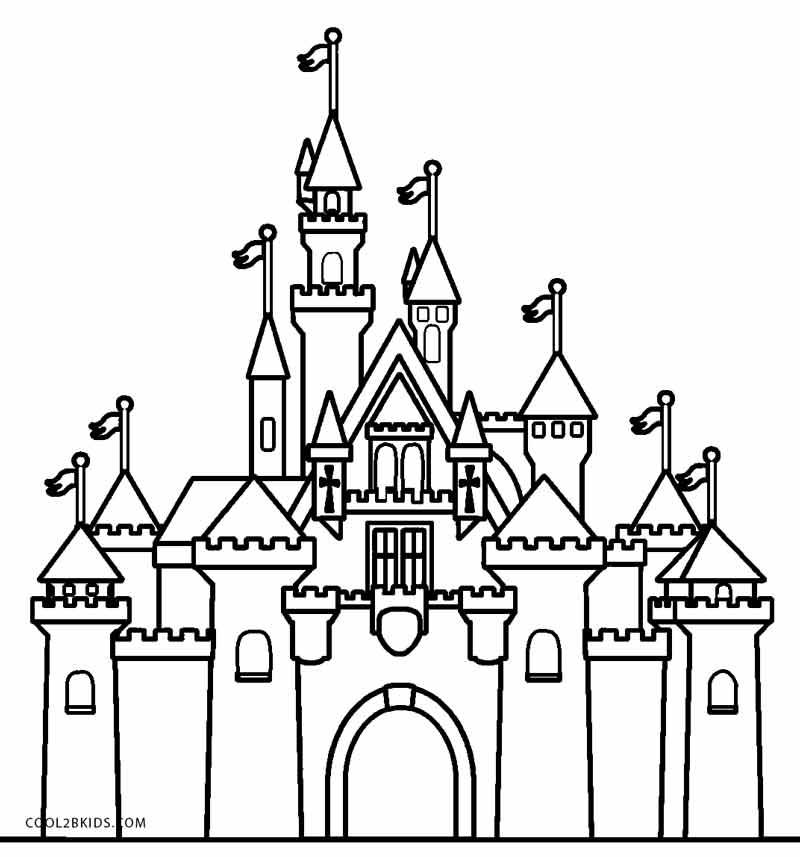 castle coloring pages disney princess castle coloring pages to kids pages castle coloring 1 1
