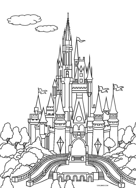 castle coloring pages free printable castle coloring pages for kids castle pages coloring 1 1