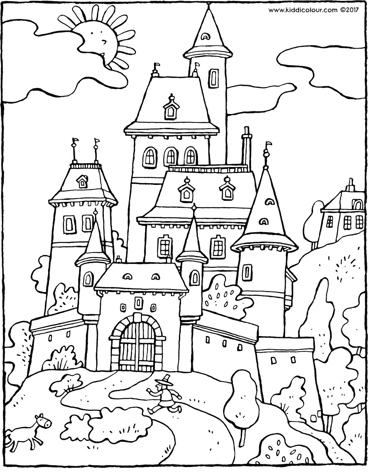 castle coloring pages free printable cinderella coloring pages for kids cool2bkids coloring pages castle