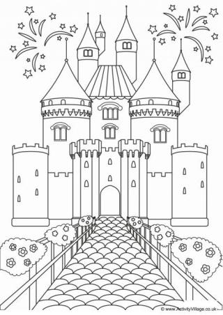 castle coloring pages get this castle coloring pages to print out bx41n pages coloring castle