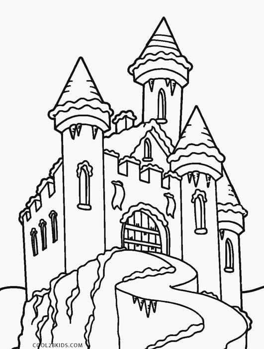 castle coloring pages printable castle coloring pages for kids cool2bkids castle coloring pages