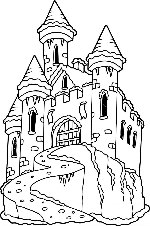 castle coloring pages printable castle coloring pages for kids cool2bkids pages coloring castle