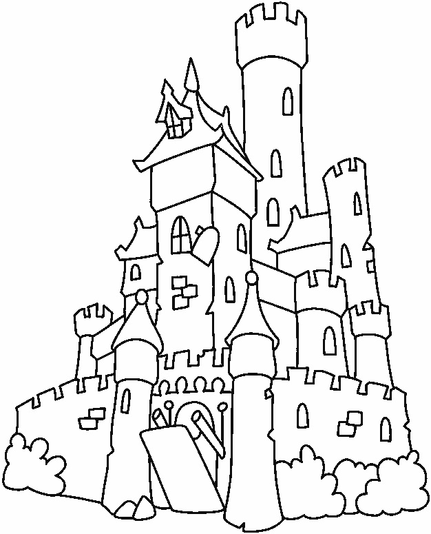 castle printable disney princess castle coloring pages to kids printable castle