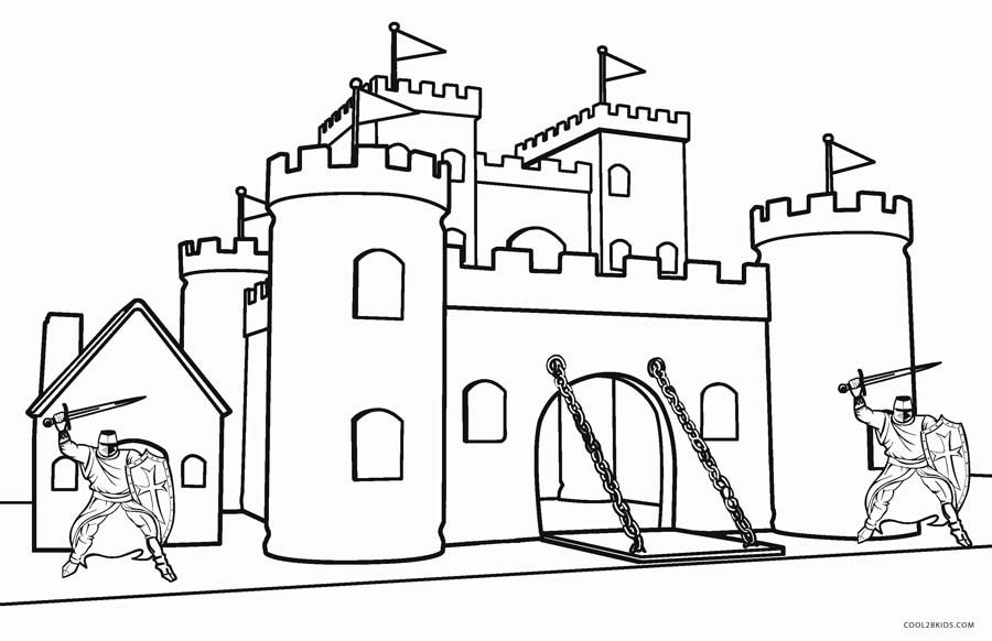 castle printable free printable castle coloring pages for kids printable castle 1 1