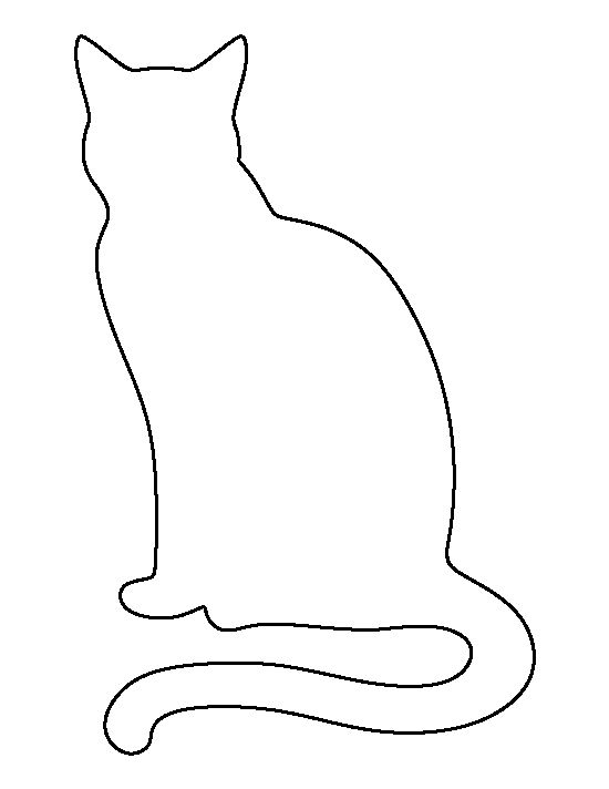 cat template printable pin by muse printables on printable patterns at printable cat template 1 1