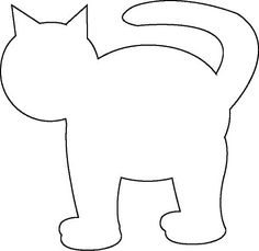 cat template printable the 25 best applique templates free ideas on pinterest cat template printable