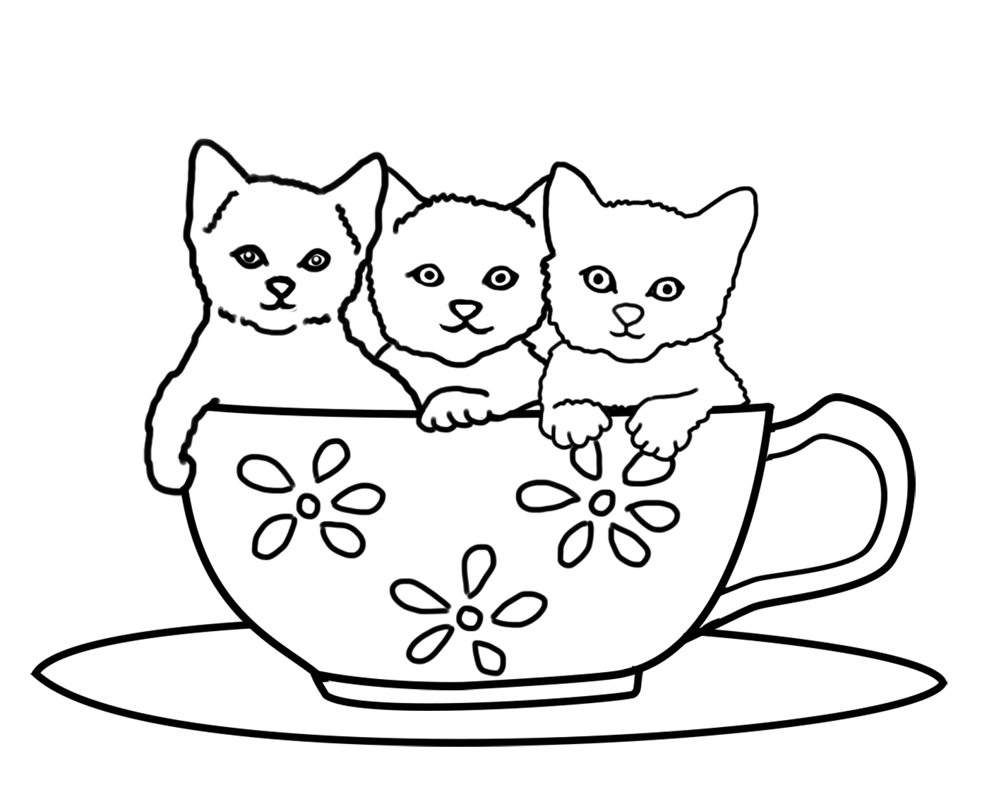 cats pictures to color 30 free printable kitten coloring pages kitty coloring cats to pictures color 1 1