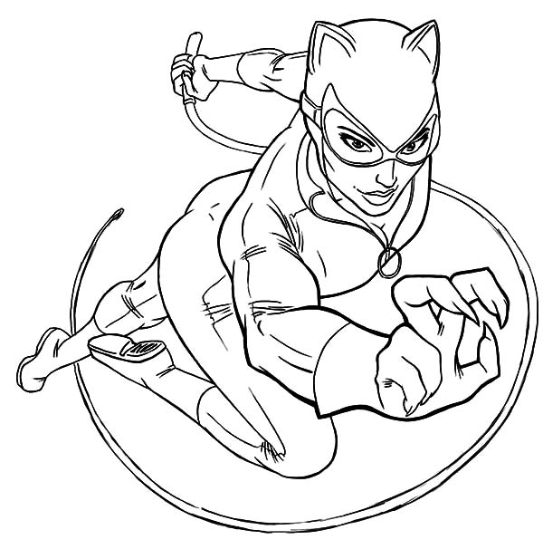 catwoman coloring page catwoman coloring pages to download and print for free coloring catwoman page