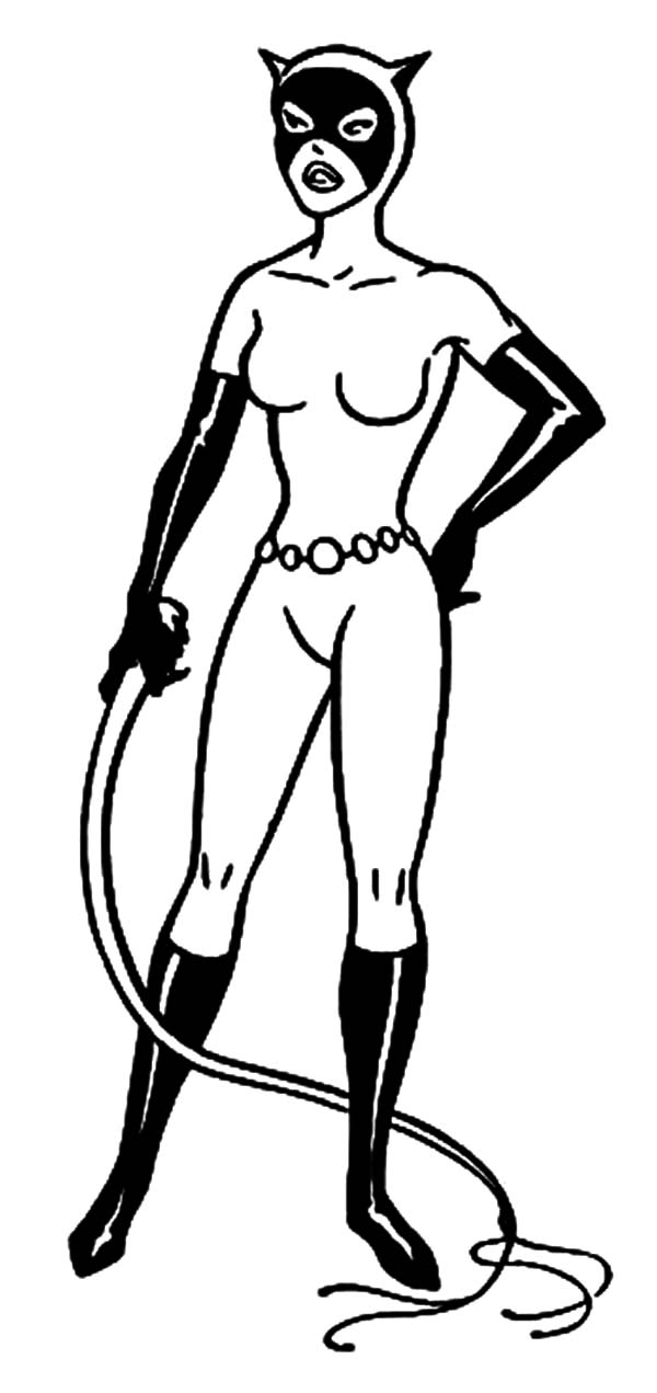 catwoman coloring page catwoman drawing at getdrawingscom free for personal page coloring catwoman 1 1