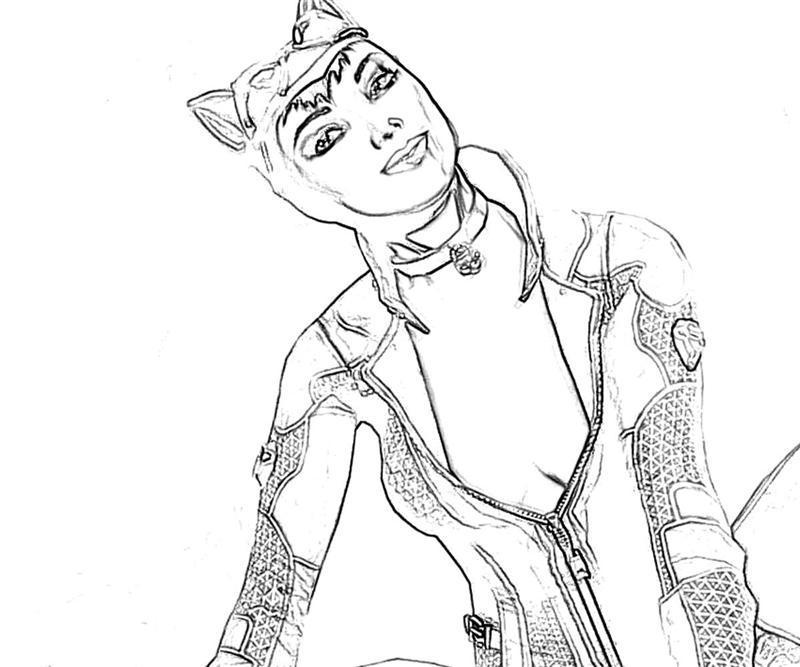 catwoman coloring page seductive cat women coloring pages best place to color page catwoman coloring