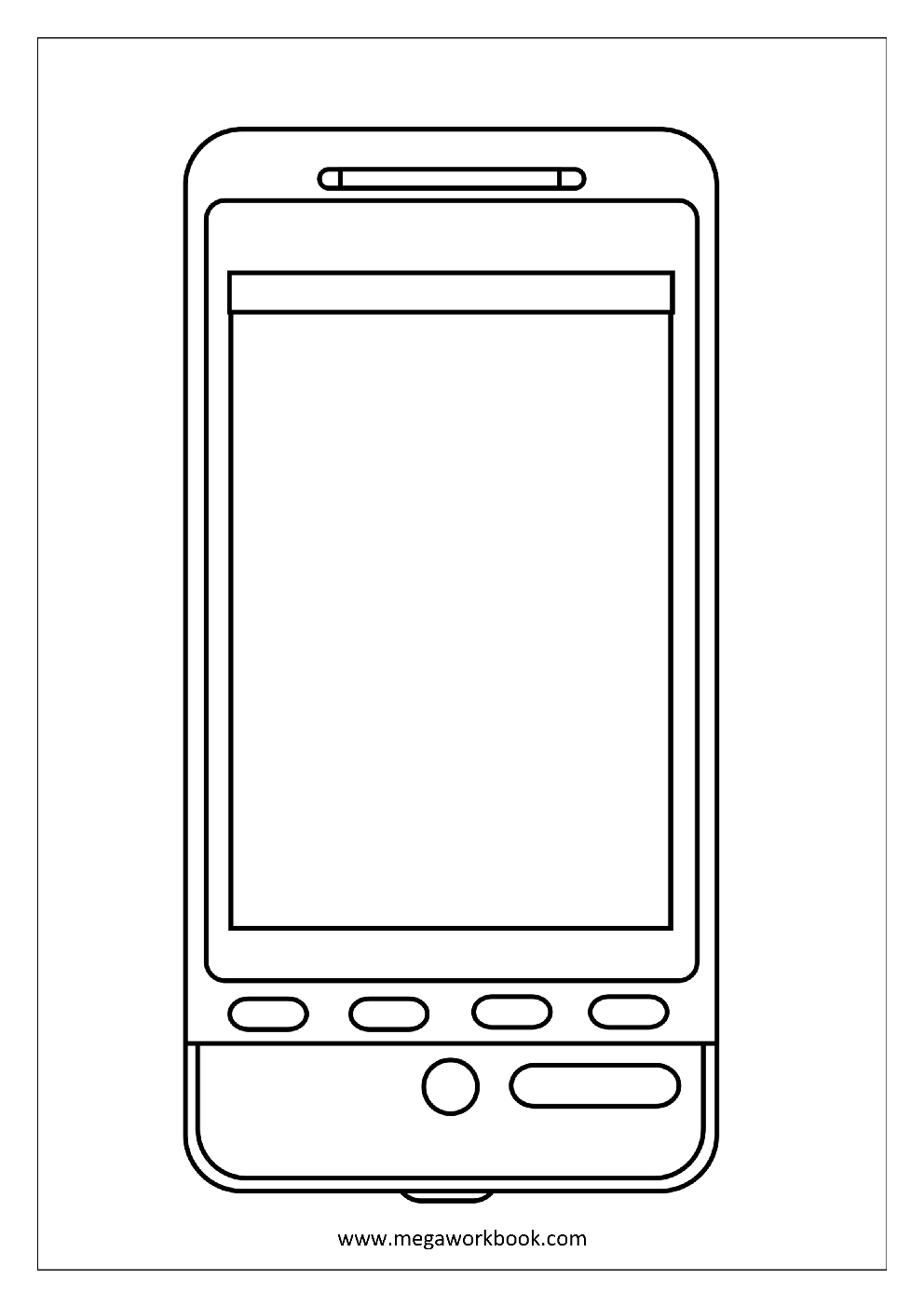 cell phone coloring pages cell phone coloring page coloring home coloring pages cell phone