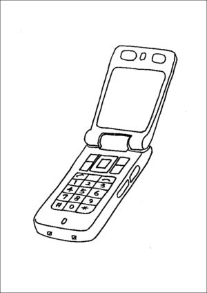 cell phone coloring pages open cell phone coloring page pages coloring cell phone