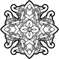 celtic coloring page 2019 snowflake to color coloring pages color mandala celtic page coloring