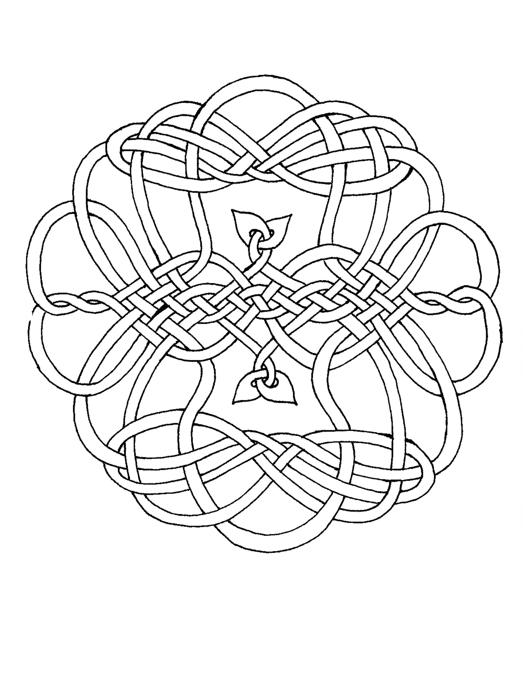 celtic coloring page 225 best images about celtic knots on pinterest alphabet coloring celtic page