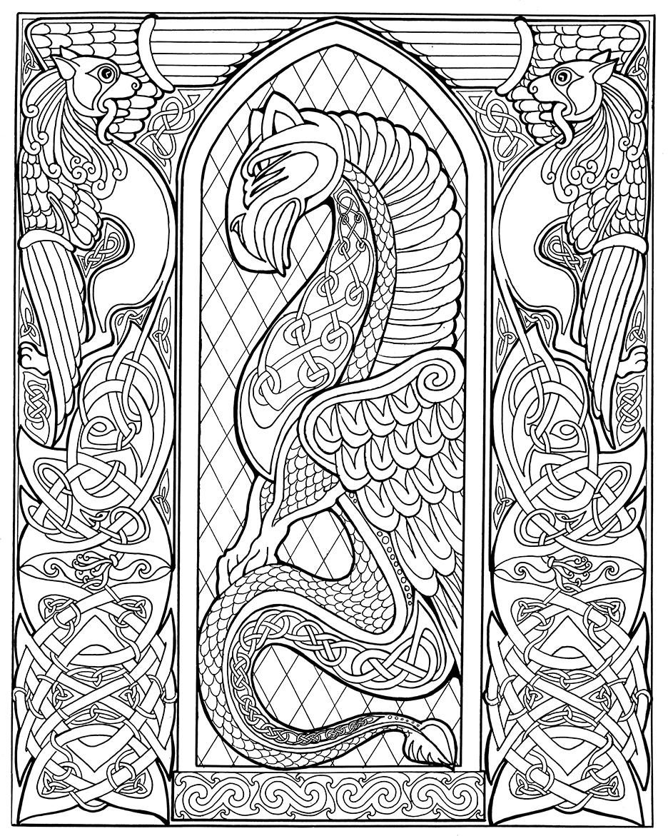 celtic coloring page embellishing and colouring celtic design karen gillmore art page coloring celtic