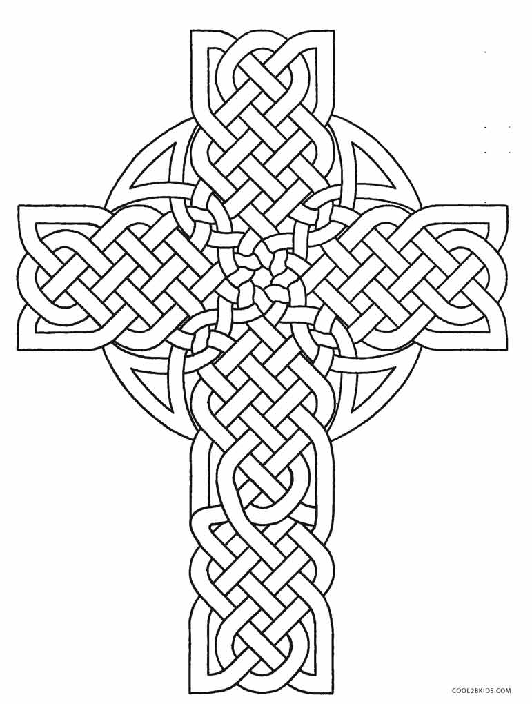 celtic coloring page free printable cross coloring pages for kids cool2bkids coloring page celtic