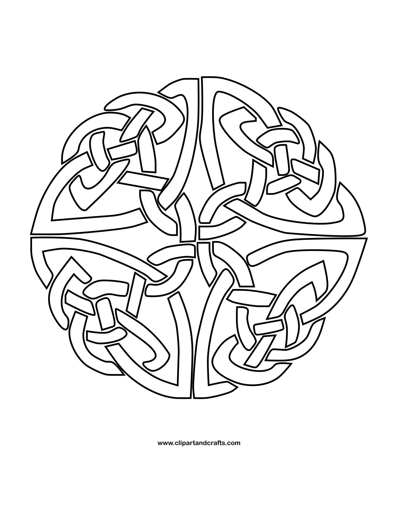 celtic coloring page mandala monday more free celtic mandalas to color celtic coloring page