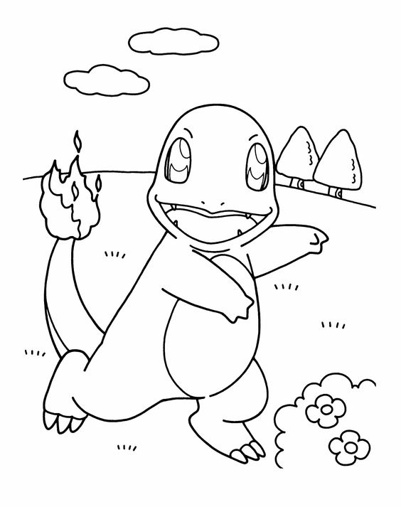 charmander coloring page 004 charmander lineart by naarael on deviantart charmander page coloring